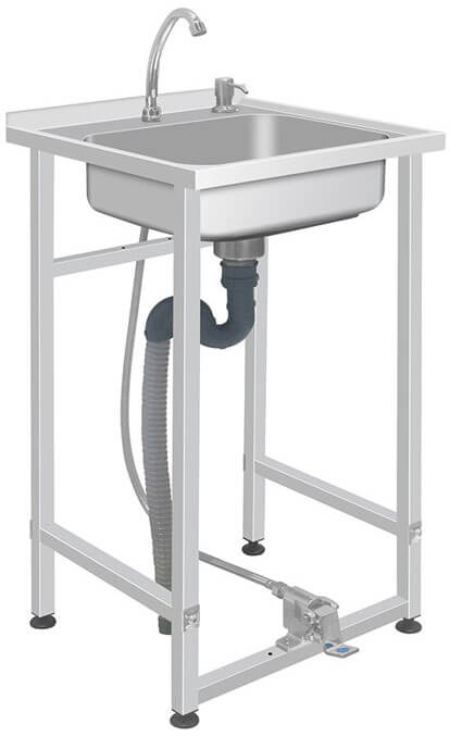 Handwash Station - Portable, Foot-Operated (HWS3)